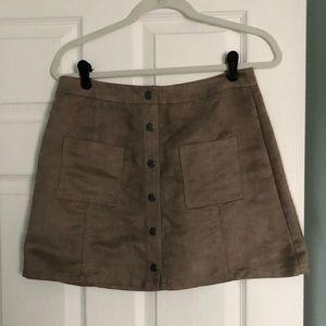Dresses & Skirts - jack brown suade skirt